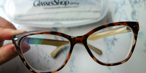 TWO Pairs of Prescription Glasses Under $20 Shipped from GlassesShop.com