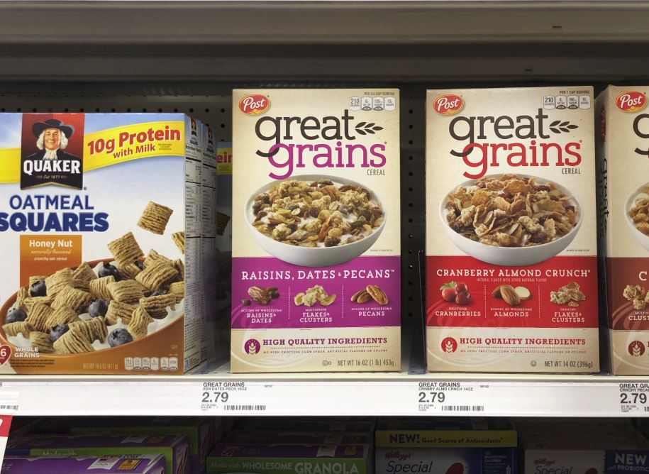 photograph relating to Post Cereal Printable Coupons known as Article Cereals as Small as $1.38 When Dollars Back again at Aim