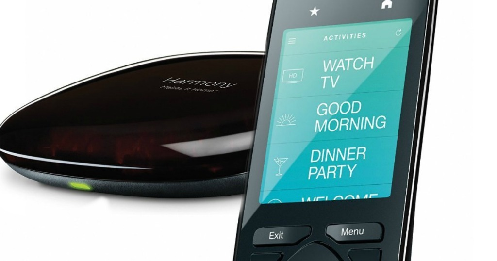 ce4e1ad7da0 For a limited time, hop on over to BestBuy.com where you can snag this Logitech  Harmony Ultimate Home Remote with Hub for only $99.99 shipped (regularly ...