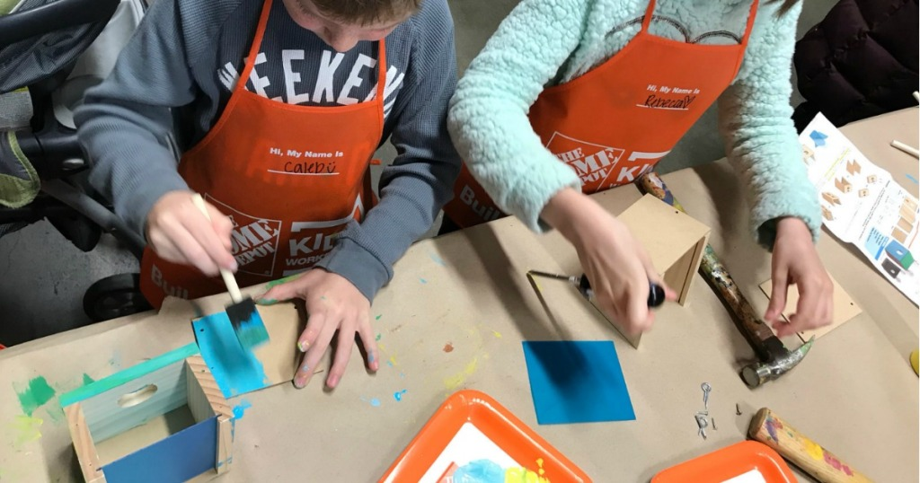 Register Now For Home Depot Kids Workshop To Build Fishing Game On