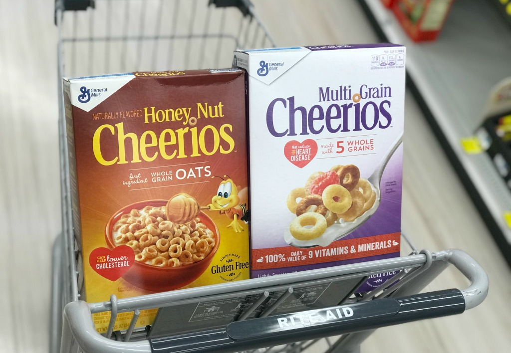 Rite Aid General Mills Cereal