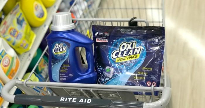 Rite Aid Oxi Clean Detergent