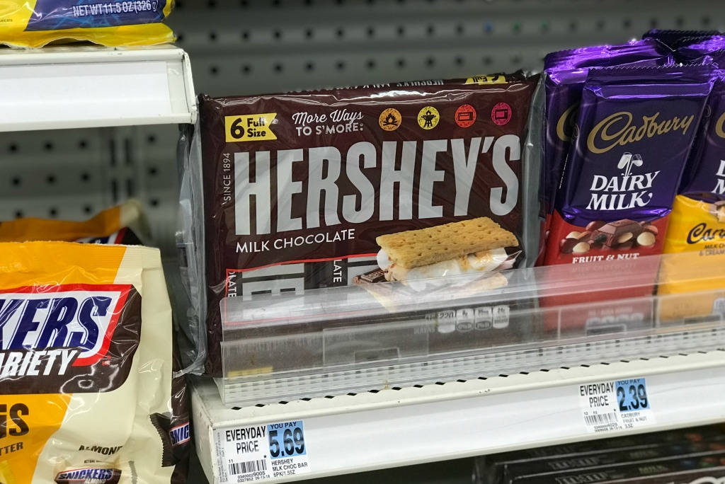 Rite Aid Hershey's Candy Bars