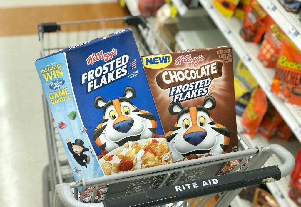 Rite Aid Kellogg's Cereals