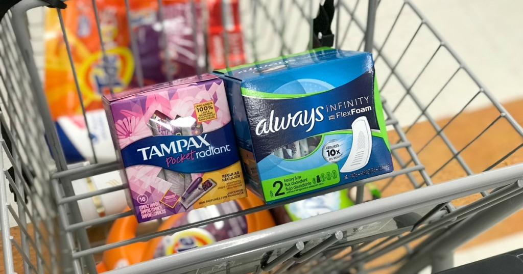 Rite Aid Tampax Always Products