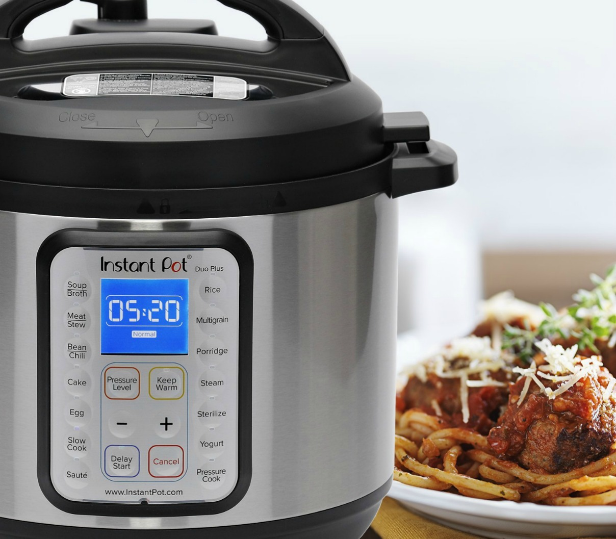 Instant Pot Duo Plus 8-Quart Pressure Cooker Only $97.99