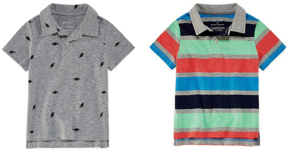 052f883887351b 60% Off JCPenney Exclusive Brands   Okie Dokie Toddler Polo Shirts Just   4.87 Each