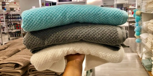 JCPenney Home Quick Dri Bath Towels Only $5.24 (Regularly $14)