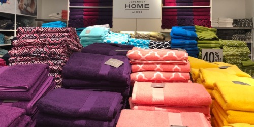 Thirteen Home Expressions Solid Bath Towels Only $54.87 + Earn $10 JCPenney Bonus Bucks + More