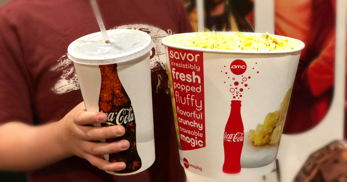 discounted kids summer movie offers – popcorn and a drink