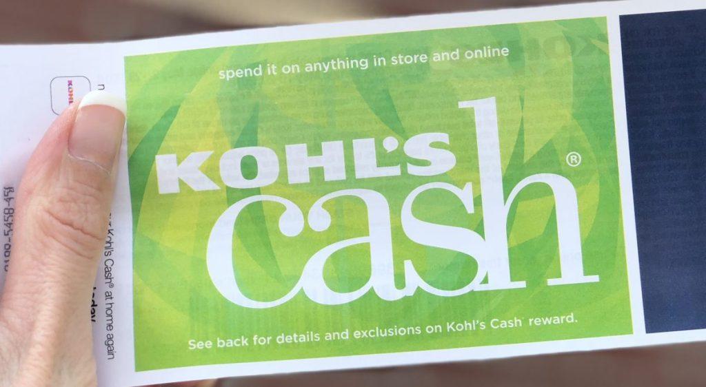 Kohl's Cash in hand