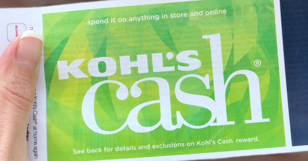 Kohl's Cash being held