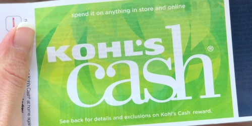 Earn up to $15 Surprise Kohl's Cash w/ ANY In-Store Purchase (Today Only)
