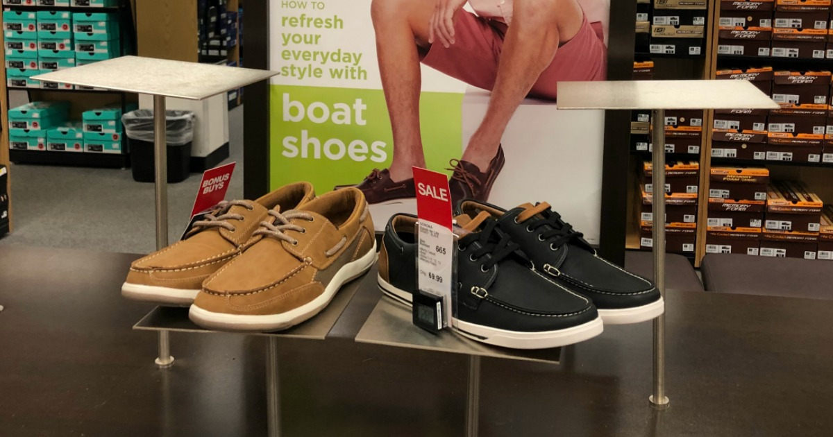 fathers day freebies meals and deals – Kohl's shoe display