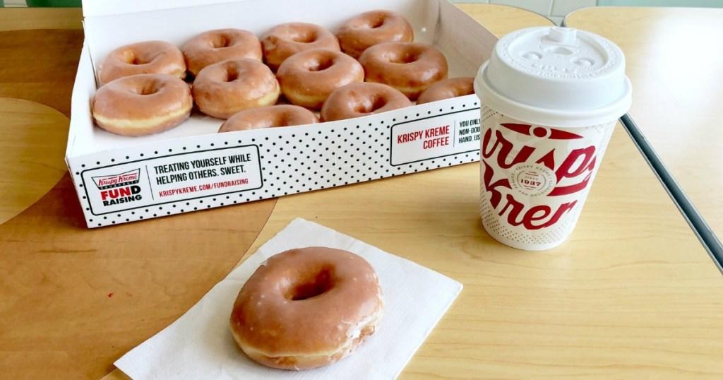 Krispy Kreme Dozen Donuts