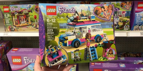 LEGO Friends Olivia's Mission Vehicle Set Just $12.99 (Regularly $20) + More
