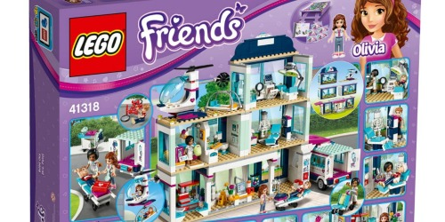 LEGO Friends Heartlake Hospital Only $74.99 Shipped (Regularly $100) + Get $30 SYW Points