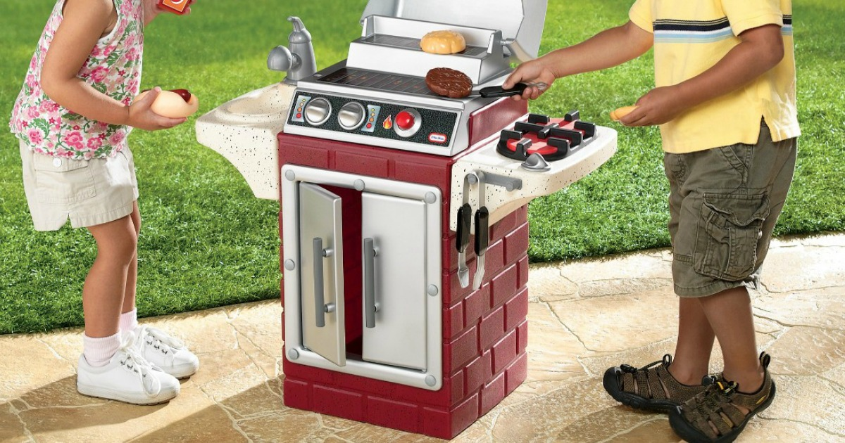 Little Tikes Backyard Barbeque Get Out 'n Grill w ...