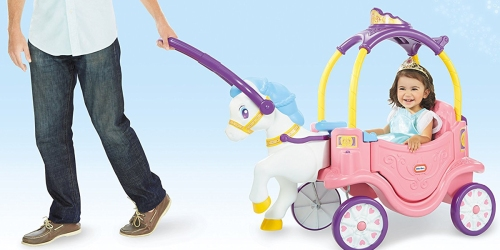 Little Tikes Princess Horse and Carriage Only $76.98 Shipped (Regularly $110)