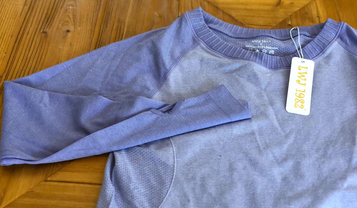 activewear pieces amazon lululemon –– long sleeve running shirts