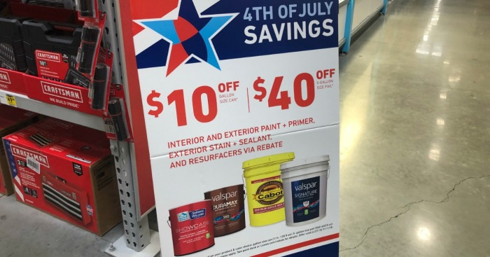 Lowes Paint App >> Up to $40 Rebate w/ Select Paint, Primer & Stain Purchase ...