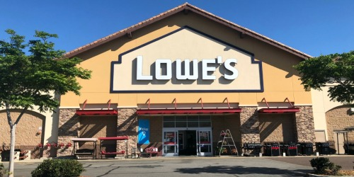 Lowe's $100 gift card only $90