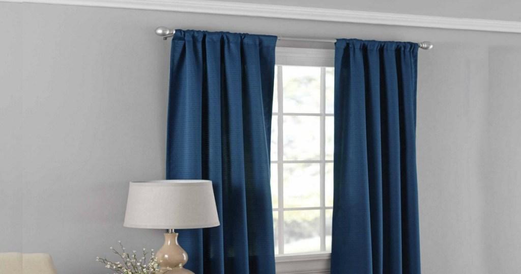 walmart room darkening curtains Walmart: Mainstays Room Darkening Curtain Panel as Low as $3.99  walmart room darkening curtains