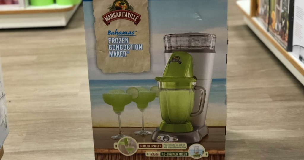 Margaritaville Frozen Concoction Maker in store on floor