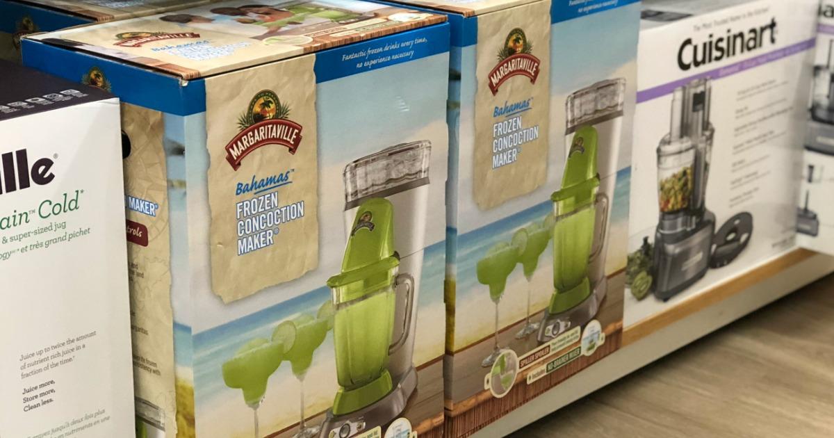 Margaritaville Bahamas Frozen Drink Maker on shelf in store