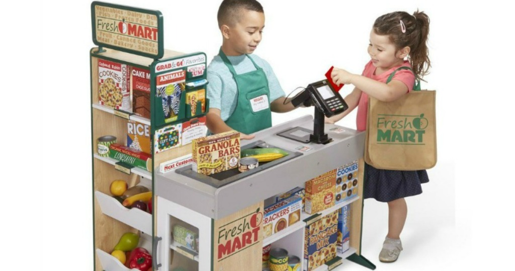 melissa and doug grocery store playset