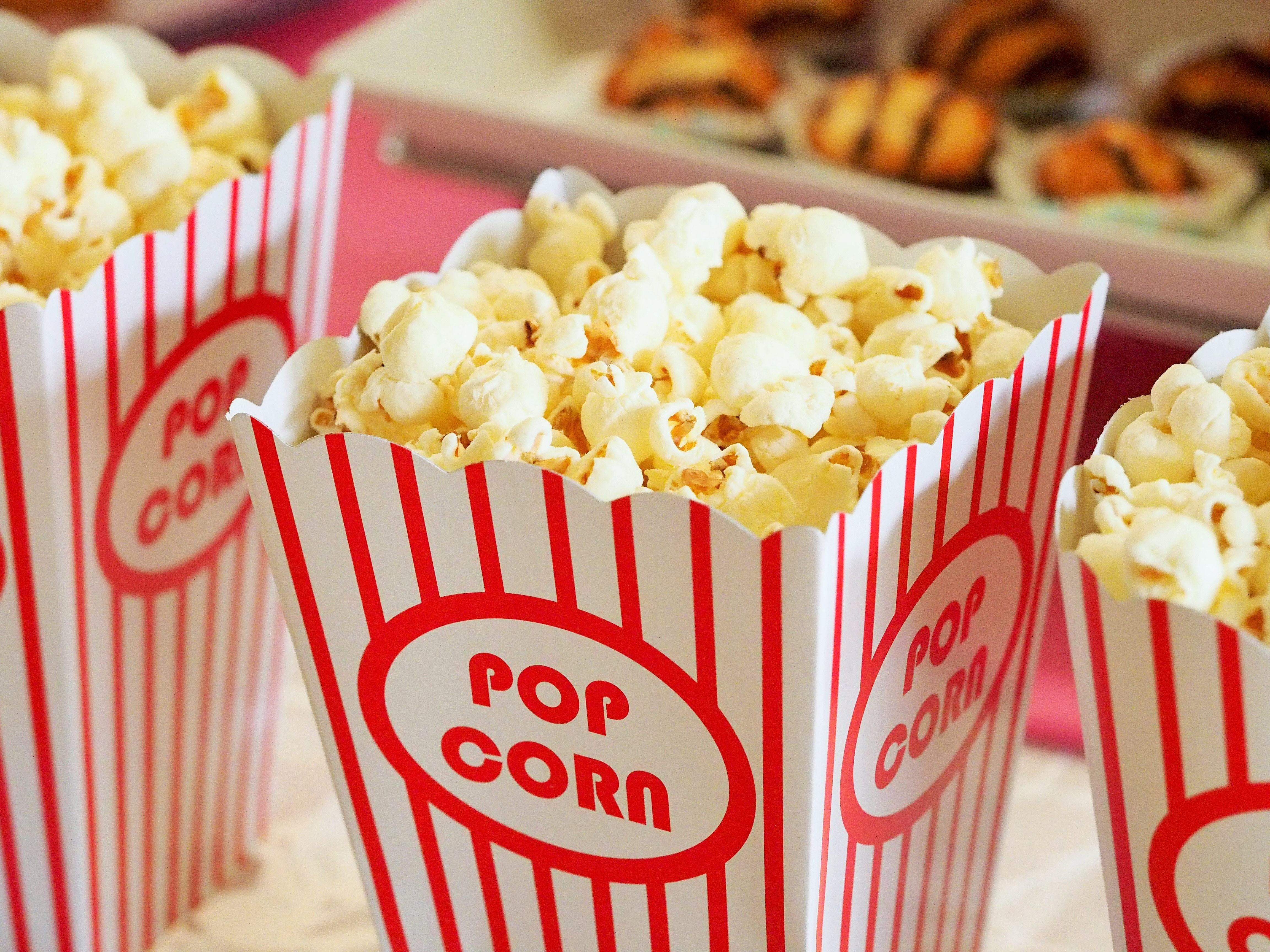 discounted kids summer movie offers – popcorn close up