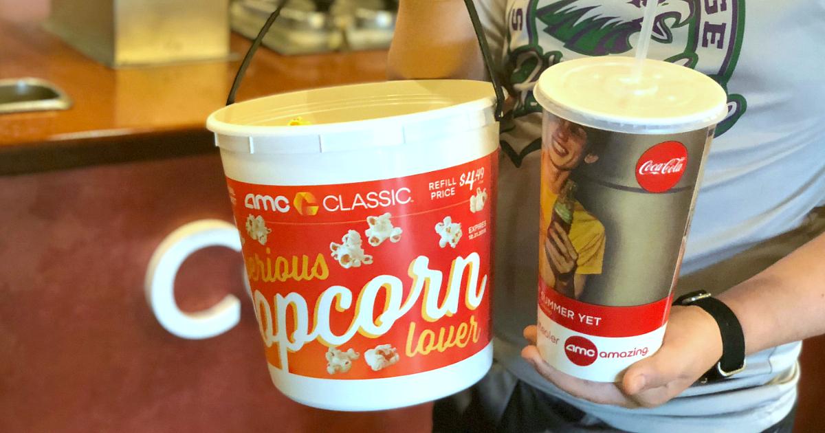 simple movie theatrer hacks to help save money – popcorn and soda