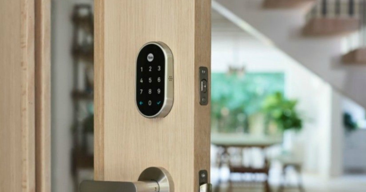 Nest x Yale Smart Door Lock Only $203 99 Shipped (Regularly