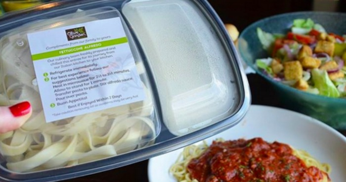 Olive Garden Take Home Dinner Entree Just 5 W Dine In Entree