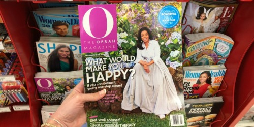Free O, The Oprah Magazine One-Year Subscription