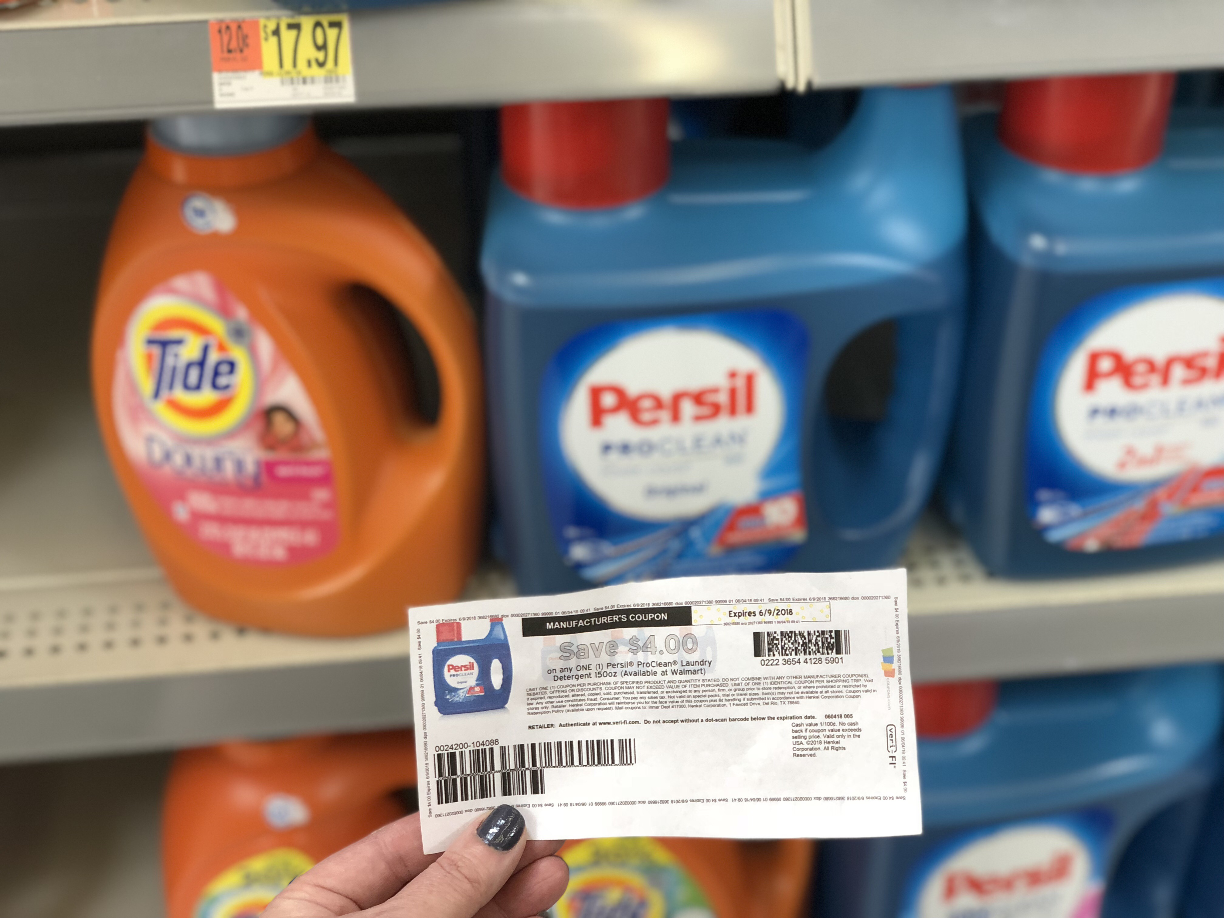 photo regarding Persil Printable Coupon named Dont Skip This $4/1 Persil ProClean Laundry Detergent