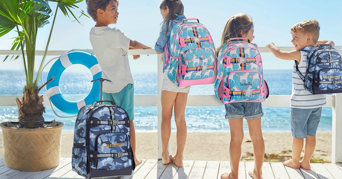 Up To 60 Off Pottery Barn Kids Backpacks Lunch Bags