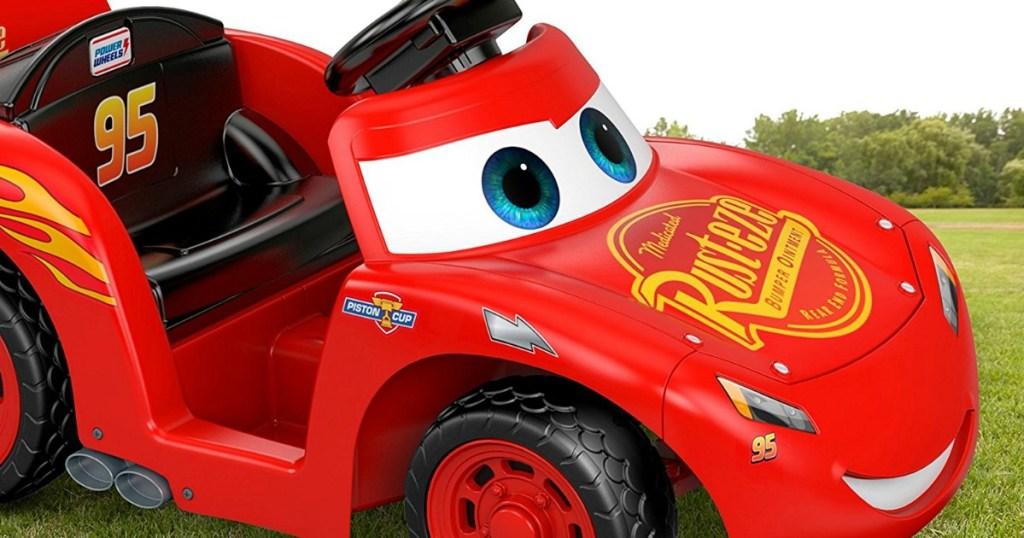 Power Wheels Disney Cars 3 Lil' Lightning McQueen Ride-On