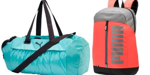 Puma Backpacks & Bags as Low as $12.50 (Regularly $25+)