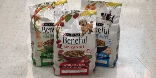 $9 Worth of Purina Beneful Dog Food Coupons = 4lb Bag Only $2.99 at Target (Regularly $8)