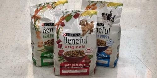 $9 Worth of Purina Beneful Dog Food Coupons = 4lb Bag Only $2.99 at Target (Regularly $8)