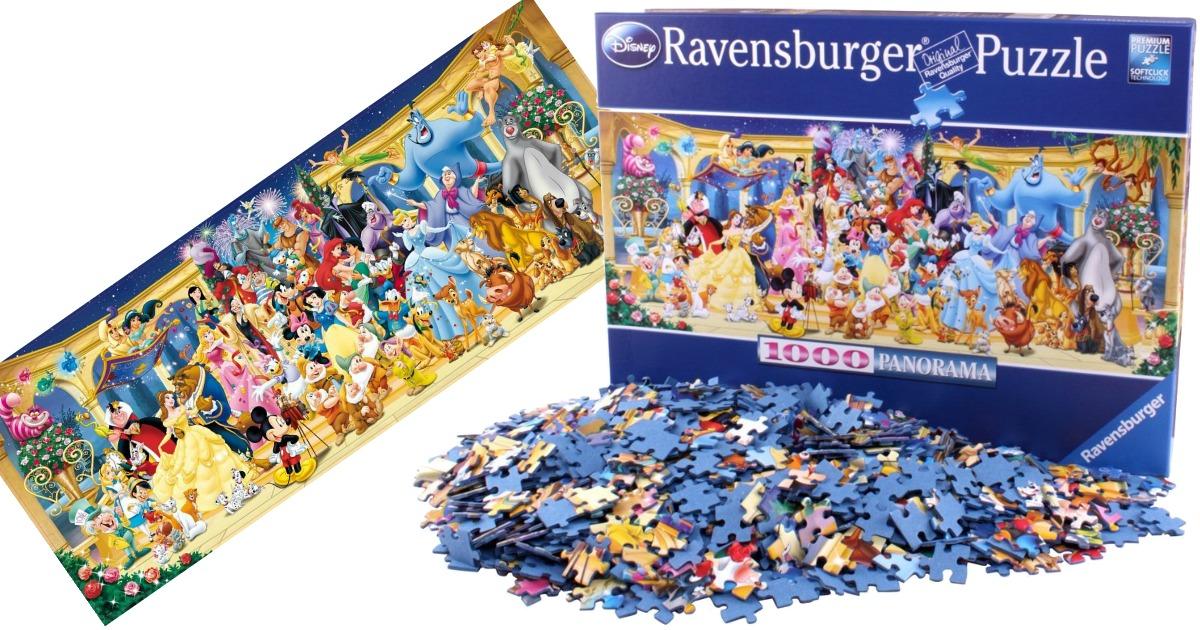 Amazon: Ravensburger Disney Panoramic Jigsaw Puzzle Only ...