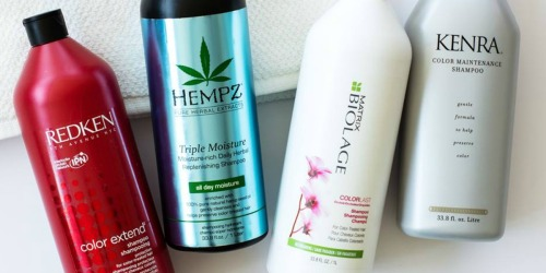 Beauty Brands Liter Sale = BIG Savings on Redken, Hempz & More