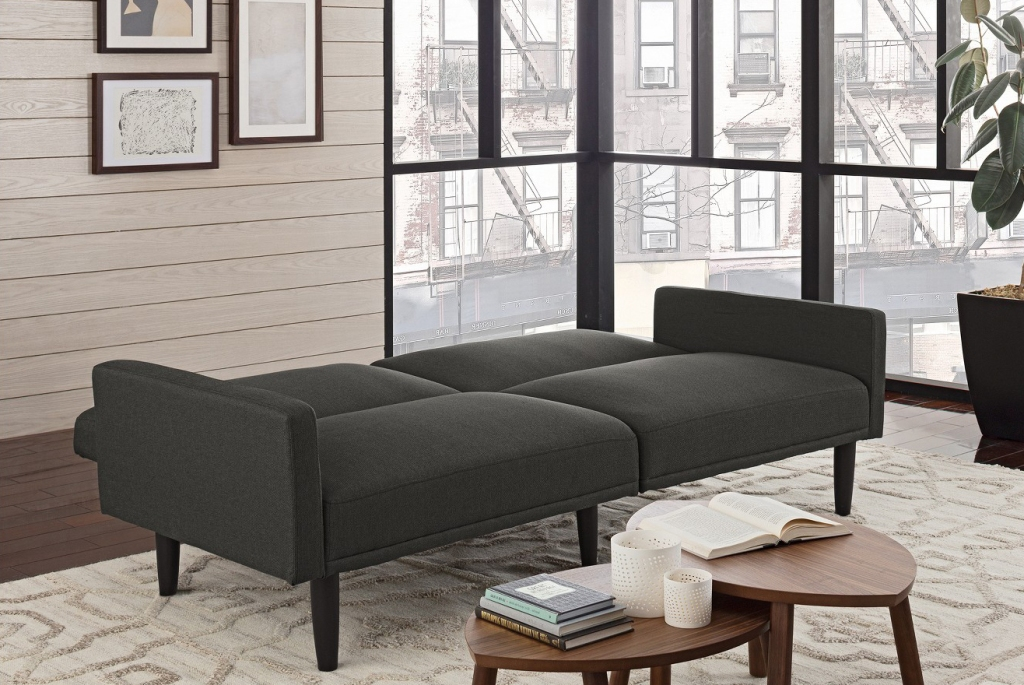 Target Com Room Essentials Linen Futon Only 139 99 Shipped