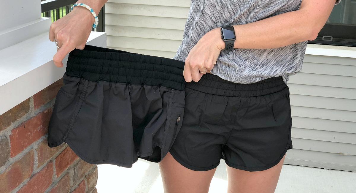 activewear pieces amazon lululemon –– Collin running shorts