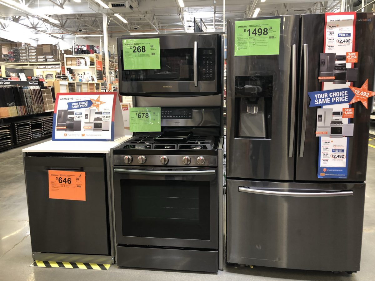 samsung appliances home depot store 2
