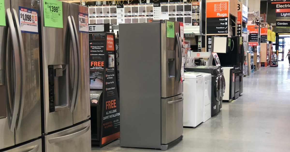 Miraculous Up To 40 Off Kitchen Appliances At Home Depot Up To Extra Interior Design Ideas Helimdqseriescom