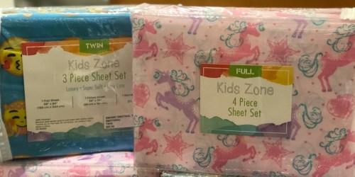 a4a683e0a088 Kids Sheet Sets as Low as  10.49 at Macy s (Lots of FUN Designs)