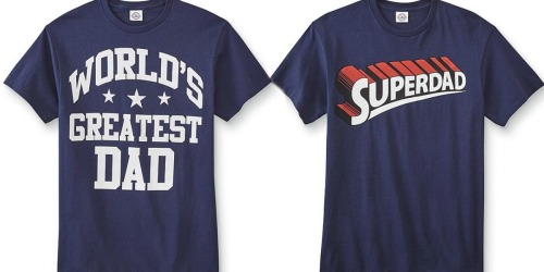 Sears.com: Five FREE Graphic Tees for Dad After Shop Your Way Points