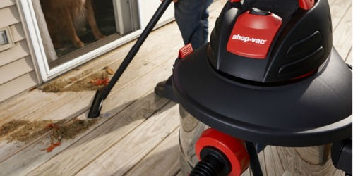 Shop-Vac 12-Gallon Shop Vacuum Only $49.98 Shipped (Regularly $100)